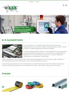 Webdesign Beispiel Z.I.S. Kunststoff GmbH
